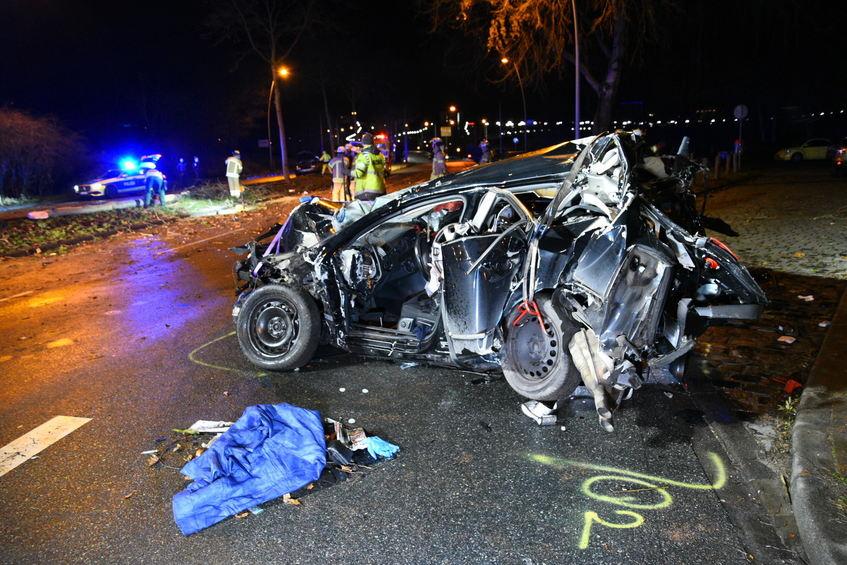 Unfall Südtangente