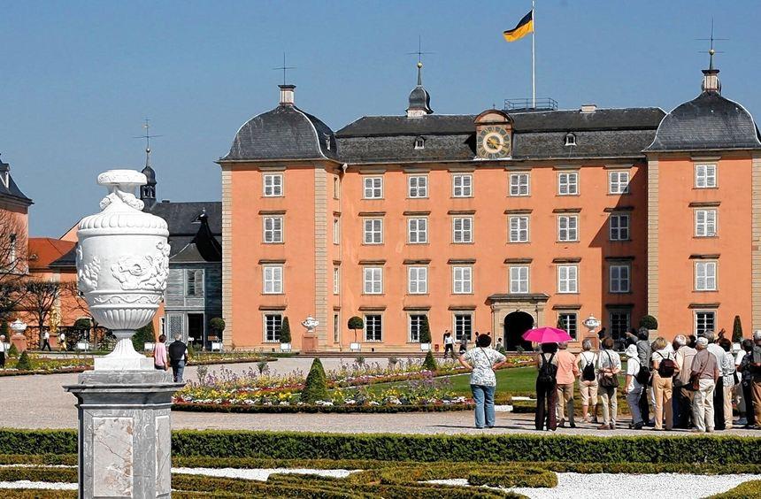 Jährlich zieht die Schwetzinger Schlossanlage 600 000 Besucher an - durch den Welterbe-Titel ...
