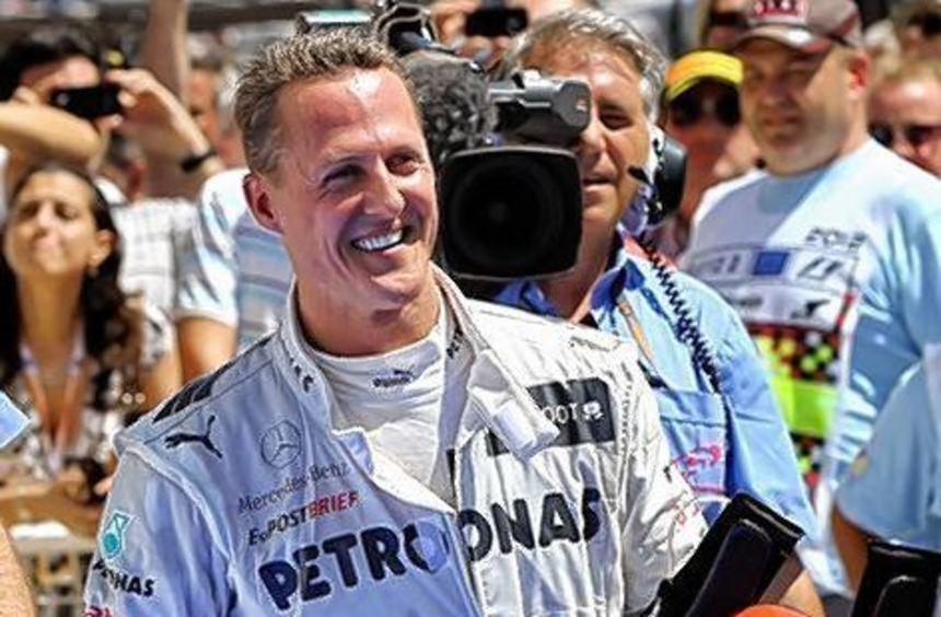 Michael Schumacher freute sich über viele Glückwünsche.
