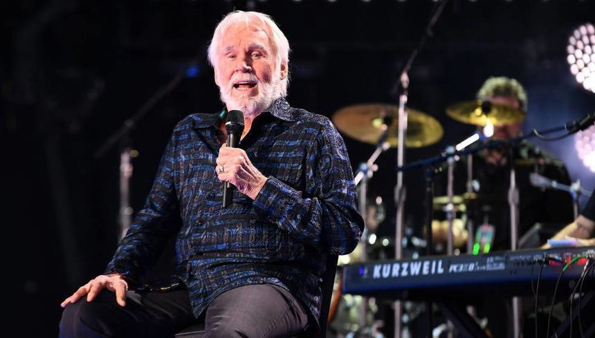 Grandseigneur der Country-Musik: Kenny Rogers.