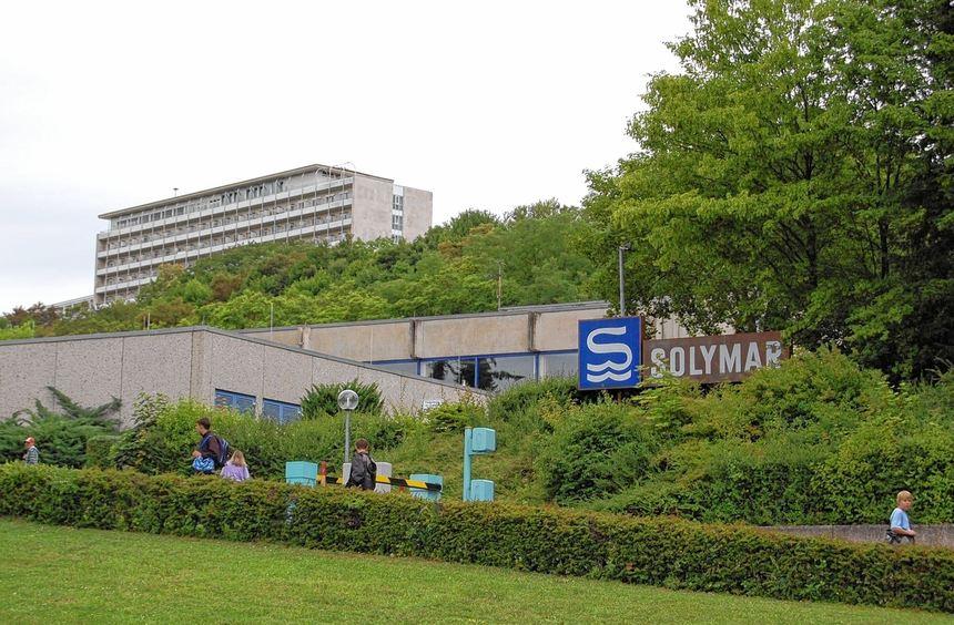 Vorerst ruhen die Umbauarbeiten am Solymar in Bad Mergentheim. Grund hierfür ist die Tatsache, das ...