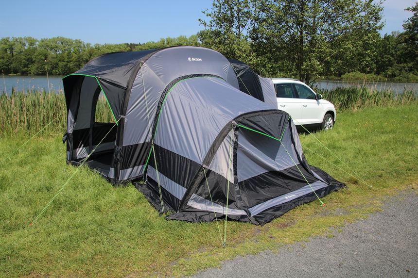 Skoda: Zelten ohne Gefummel Mannheimer Morgen