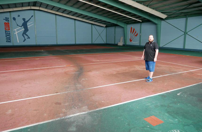 Schwetzingen: Keine Bewegung beim abrissreifen Racketclub - Schwetzinger Zeitung / Hockenheimer Zeitung