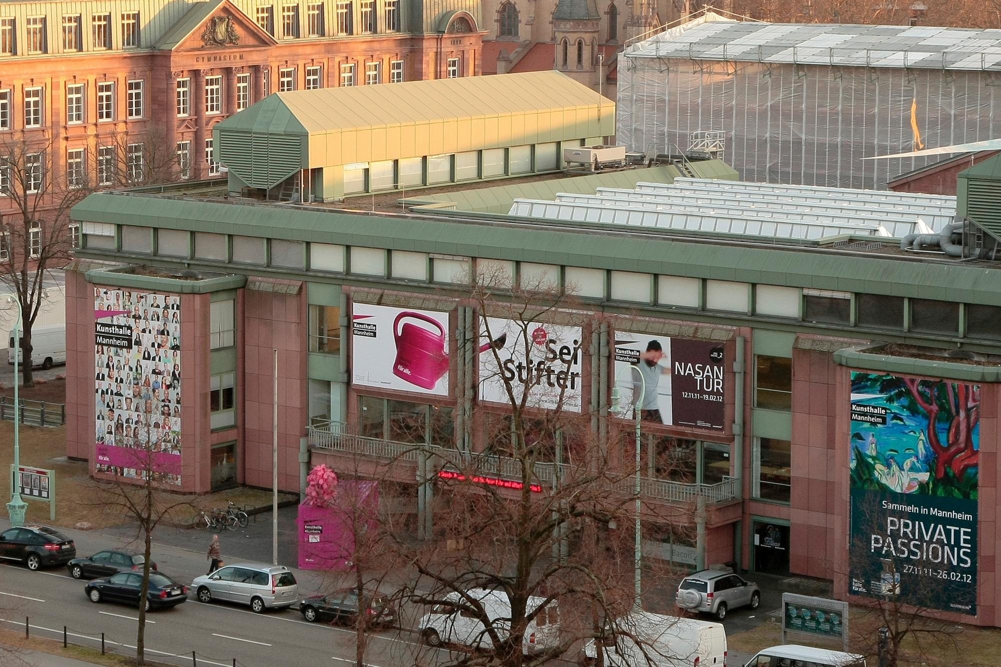Der Mitzlaff-Bau der Kunsthalle in Mannheim