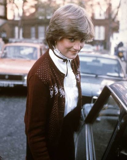 Diana 1980 in London.