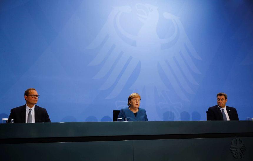 Teil-Lockdown ab Montag - Angela Merkel: