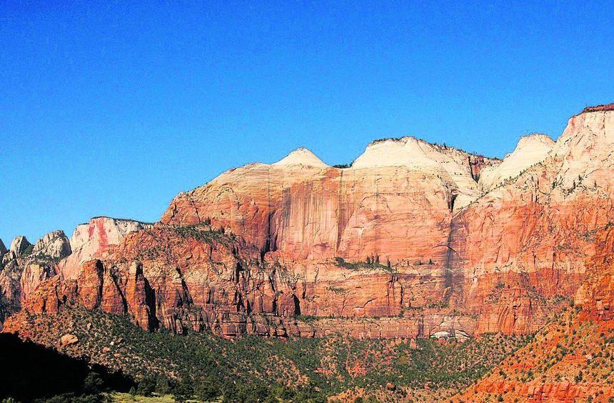 Der Zion Nationalpark im US-Bundesstaat Utah lockt nicht nur mit spektakulären Naturkulissen. Der ...