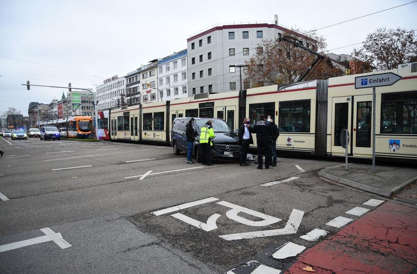 Verkehrsbehinderung Frankfurt