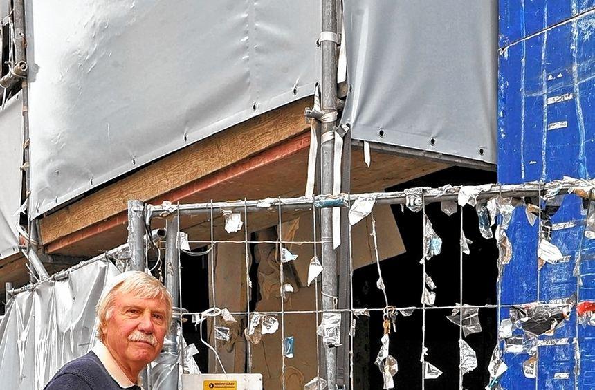 Wolfgang Ockert zeigt den Dreck an T 1 - sehr unappetitliche Detailaufnahmen haben wir unseren ...