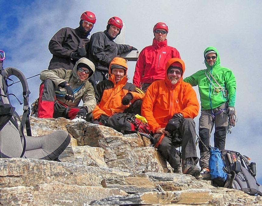 b923af7f45c332 Gipfelstürmer  Eine Hochtour von SSG-Mitgliedern führte zur Glockner-Gruppe.