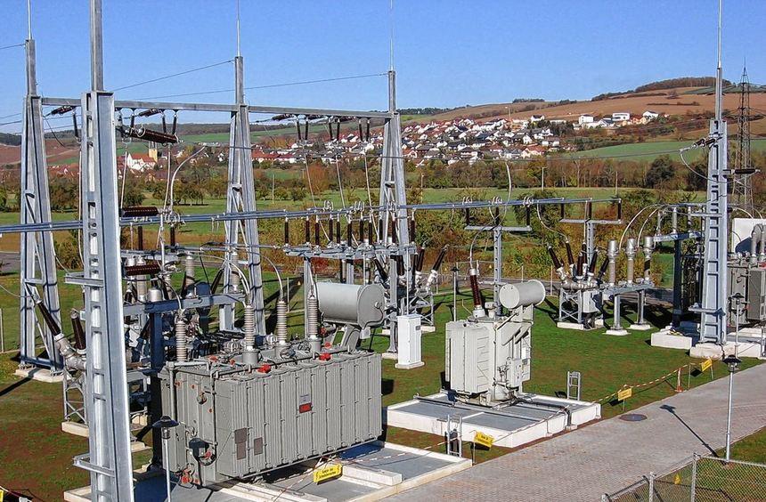 Knapp vier Millionen Euro investierte die EnBW Regional AG in die Modernisierung des Umspannwerks ...