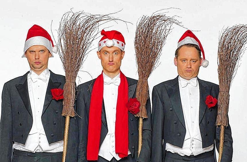 """""""Bidla Buh"""" präsentiert das Weihnachtsprogramm."""