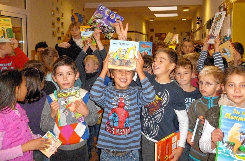 Beim bundesweiten Vorlesetag dreht sich in der Kindertagesstätte Pusteblume alles um die ...