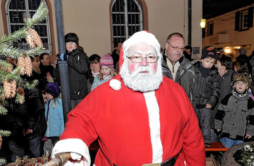 Er hat schon zugesagt: Der Nikolaus schaut an beiden Tage beim Bibliser Weihnachtsmarkt vorbei.