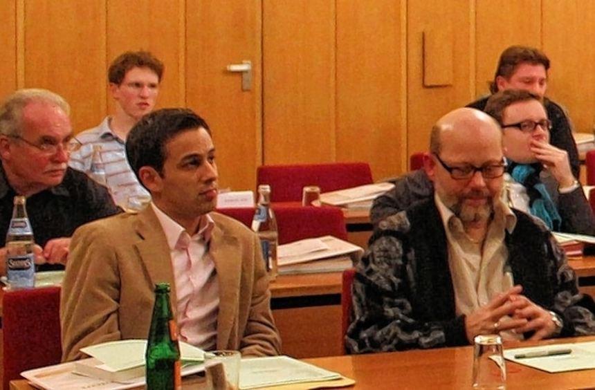 Im Stadtparlament sitzen Thomas Klingenstein (vordere Reihe, 2.v.r.) und Dieter Rihm (3.v.r.) ...