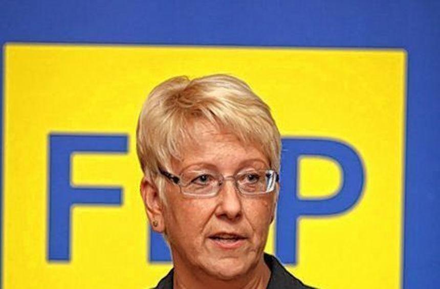 Nur auf Listenplatz zehn: Birgit Reinemund.