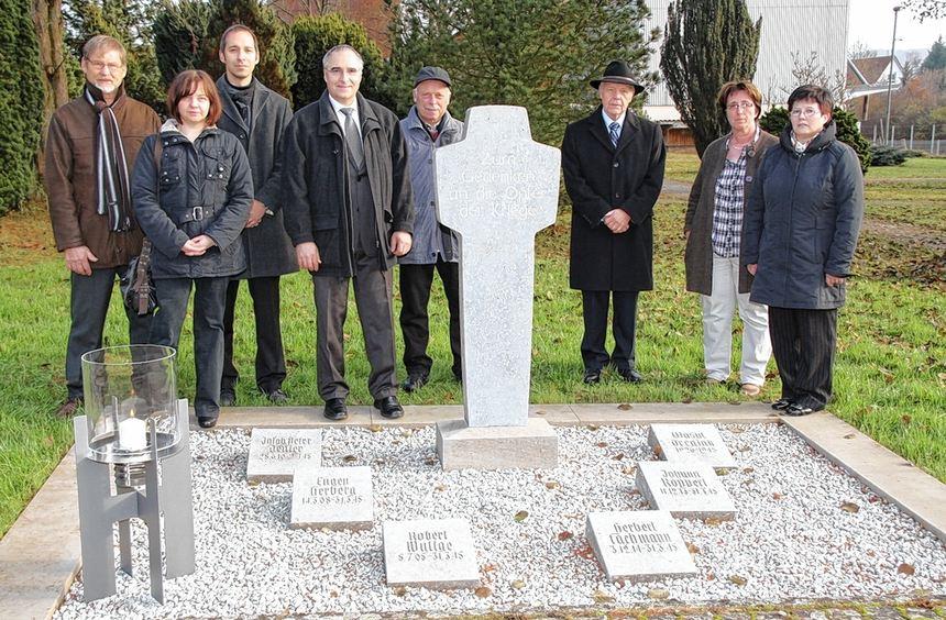 Die Kriegsgräber auf dem alten Friedhof wurden in den vergangenen Monaten neu gestaltet. Das Bild ...