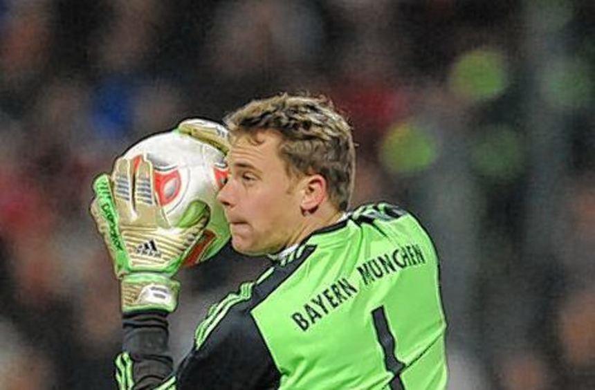 Manuel Neuer machte beim 1:1 keine glückliche Figur.