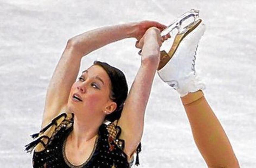 Sarah Hecken war mit ihrem ersten Saisonsieg zufrieden.