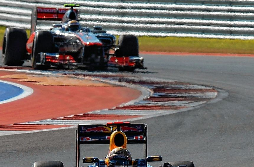 Sebastian Vettel gab alles - aber für den vorzeitigen Titelgewinn reichte es noch nicht.