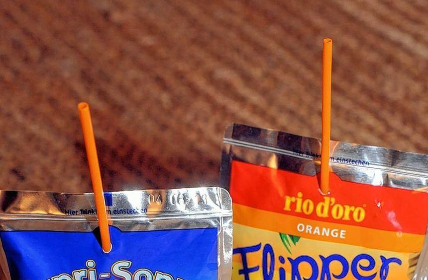 Der neue Trinkbeutel Flipper bei Aldi Süd wird vom Capri-Sonne-Hersteller geliefert, der damit das ...