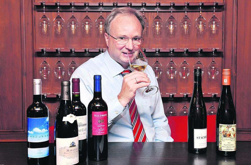 Das berufliche Leben von Joachim Spies dreht sich um den guten Wein.