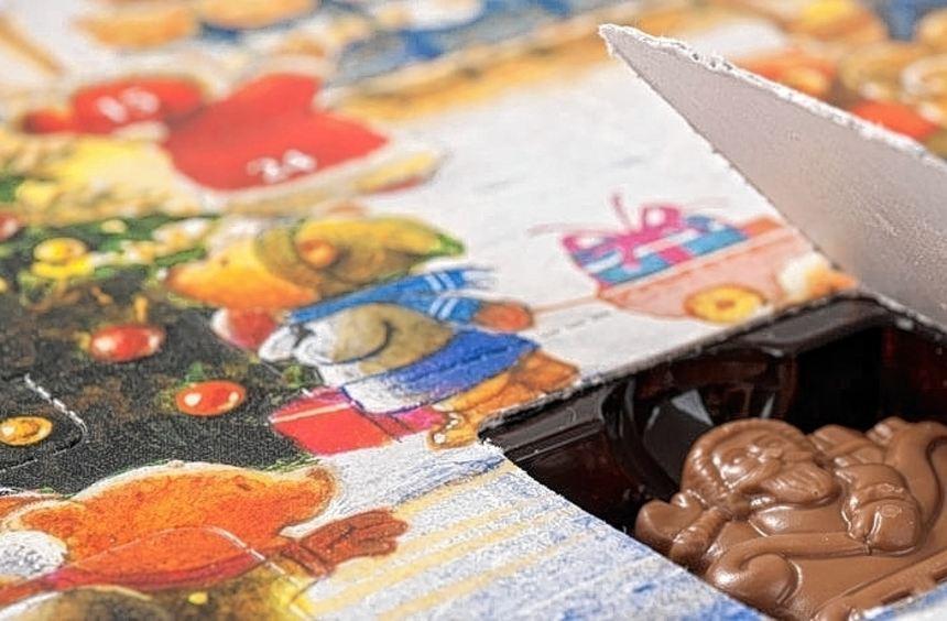 Die Schokolade aus vielen Adventskalendern sei mit giftigen Öl-Resten belastet, sagt die Stiftung ...