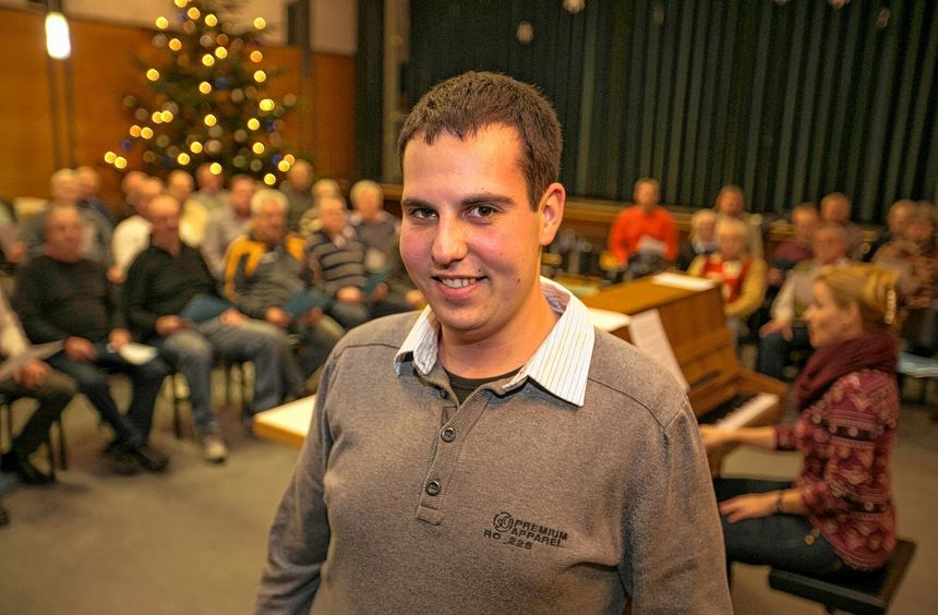 Jugendliche für den Gesang begeistern: Das hat sich Philipp Winkenbach vorgenommen.