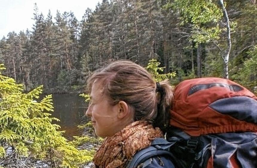 Naturliebhaberin Tina Gessner entdeckte die schwedische Wildnis.
