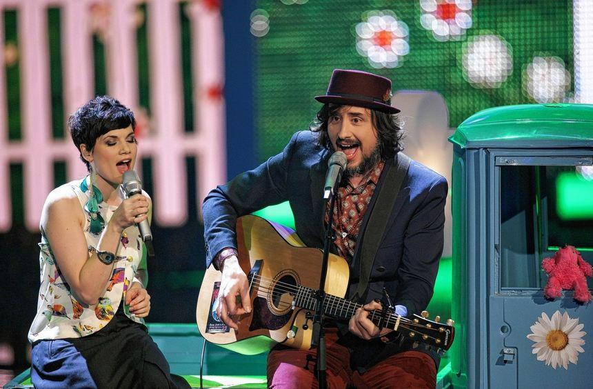 Vielleicht die bisher originellsten Gewinner einer deutschen Casting-Show: Sarah Nücken und Steffen ...