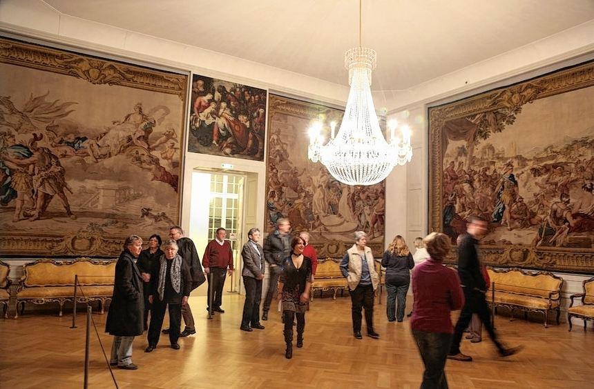 Besucher des Mannheimer Schlosses erfahren am Wochenende Dinge, die sie schon immer mal wissen ...