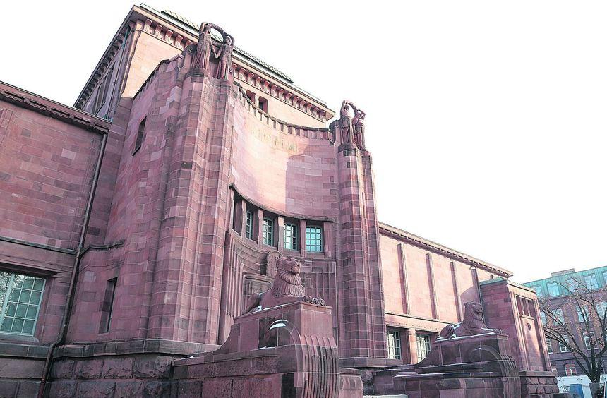 Der Billing-Bau wird mit Max Beckmann und Otto Dix eröffnet.