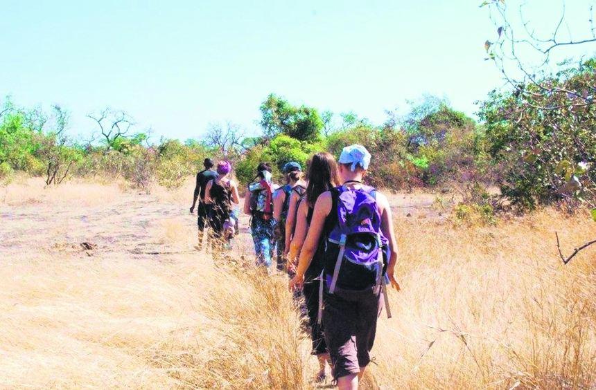 Bei 36 Grad im Schatten erkundeten zehn Mannheimer Studentinnen den Senegal.