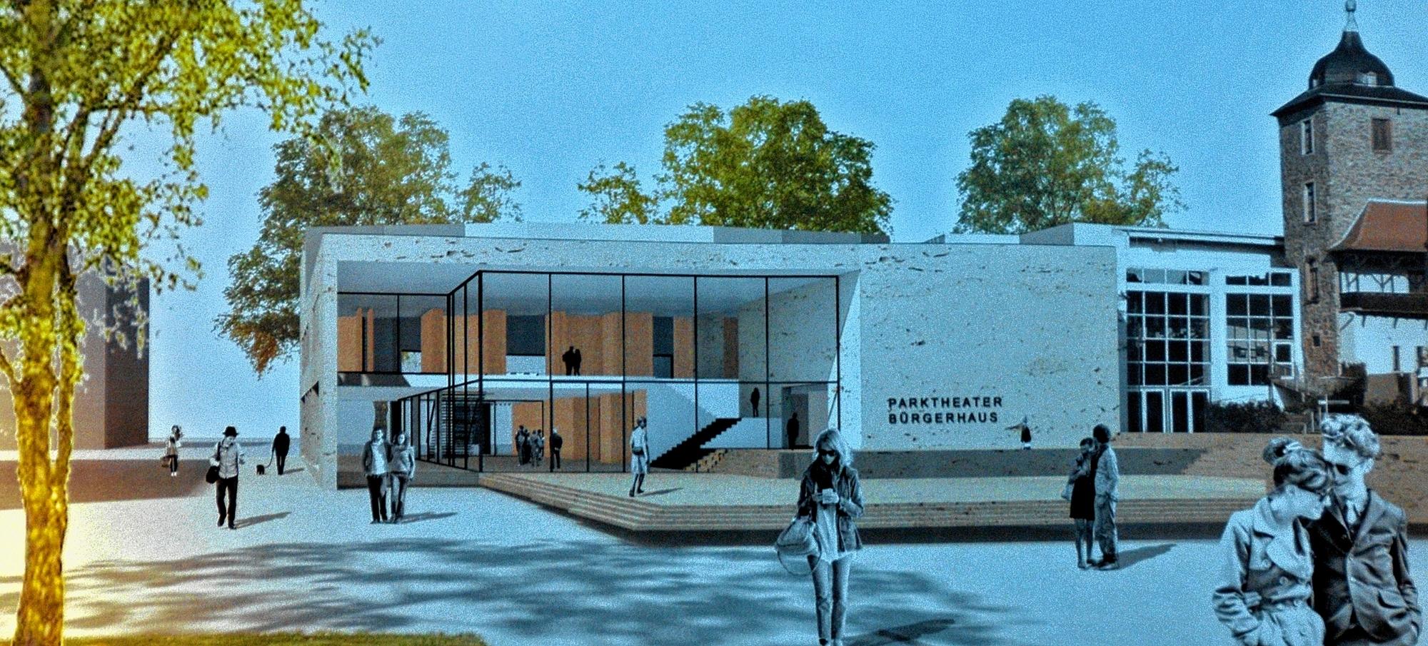 Architekt Bensheim zwei häuser verschmelzen zu einem kulturzentrum bensheim bergsträßer anzeiger region