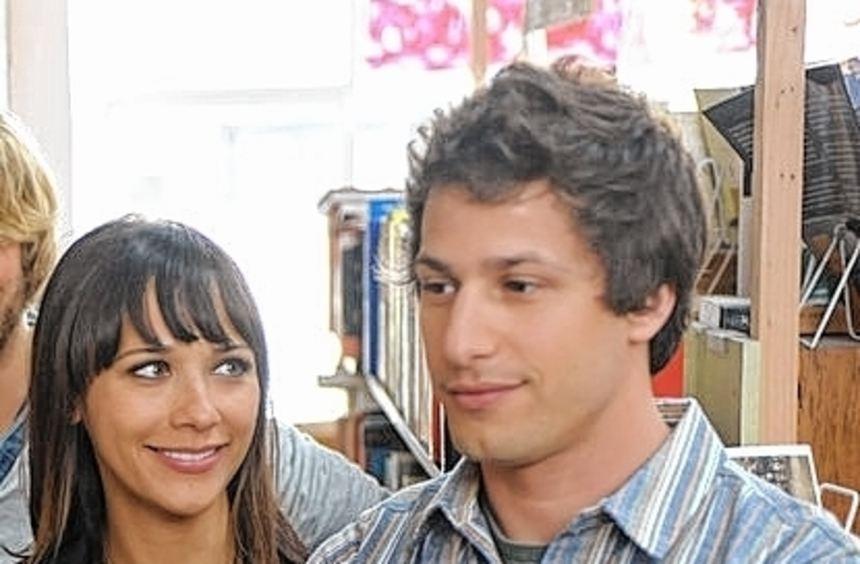 Szene mit Rashida Jones (Celeste), Andy Samberg (Jesse).