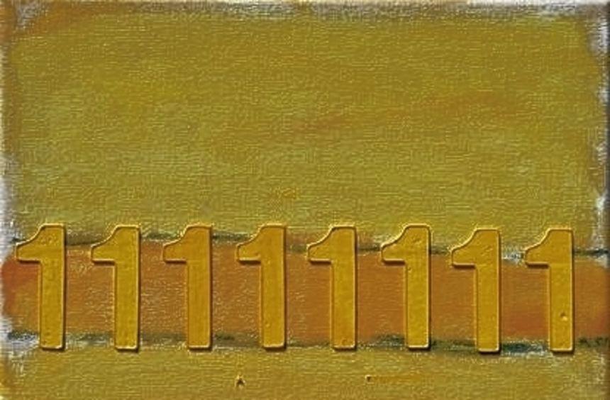 """""""Numerischer Horizont"""" von Karl Schwarzenberg."""