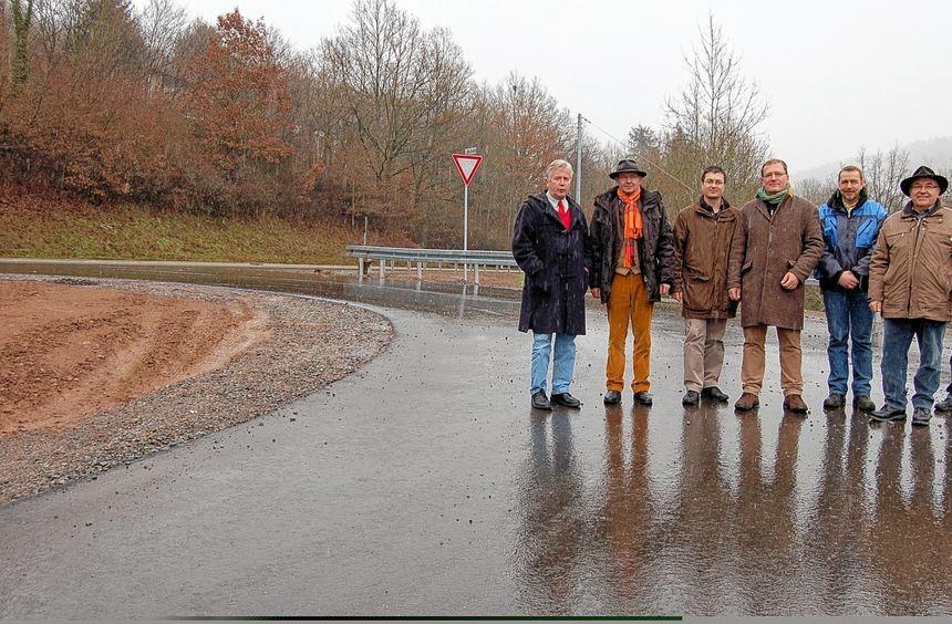 Die Abnahme des zweiten Abschnitts der Bundesstraße 47 stand dieser Tage auf dem Programm. Das Bild ...