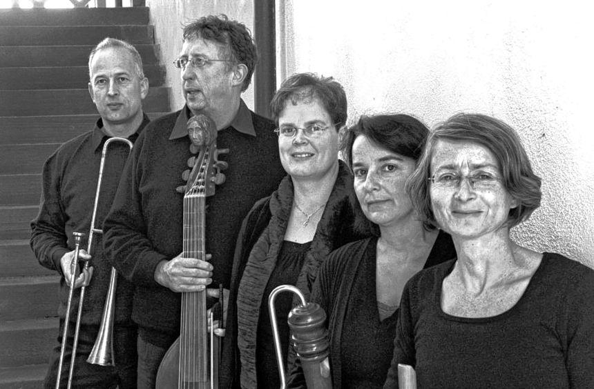 """Das Ensemble """"Le Nuove Musiche"""" ist mit Passionsmusik des Barock am 16. Februar in der ..."""