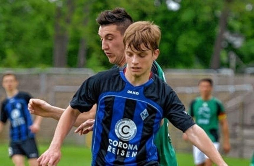 Der 20-jährige Luca Graciotti gehört zu den Talenten beim SVW.