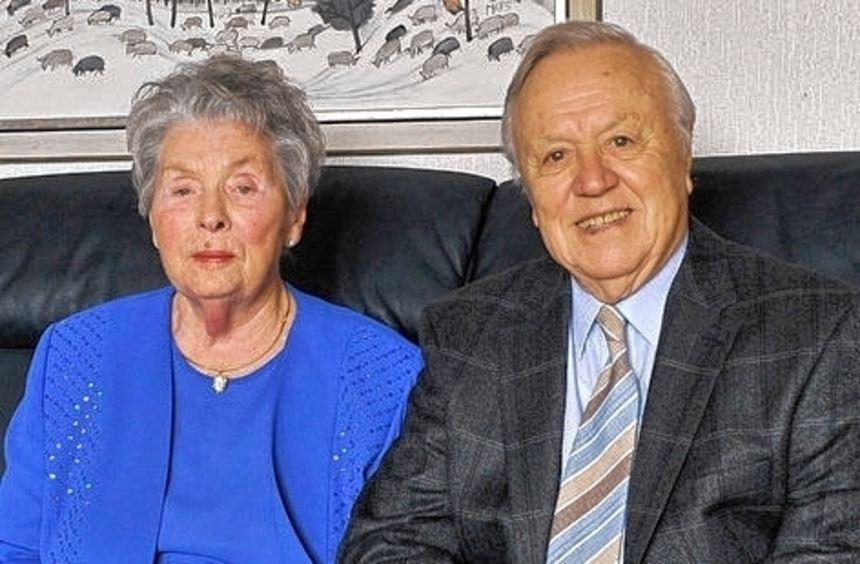 Seit 65 Jahren ein Paar: Ursula und Manfred David.