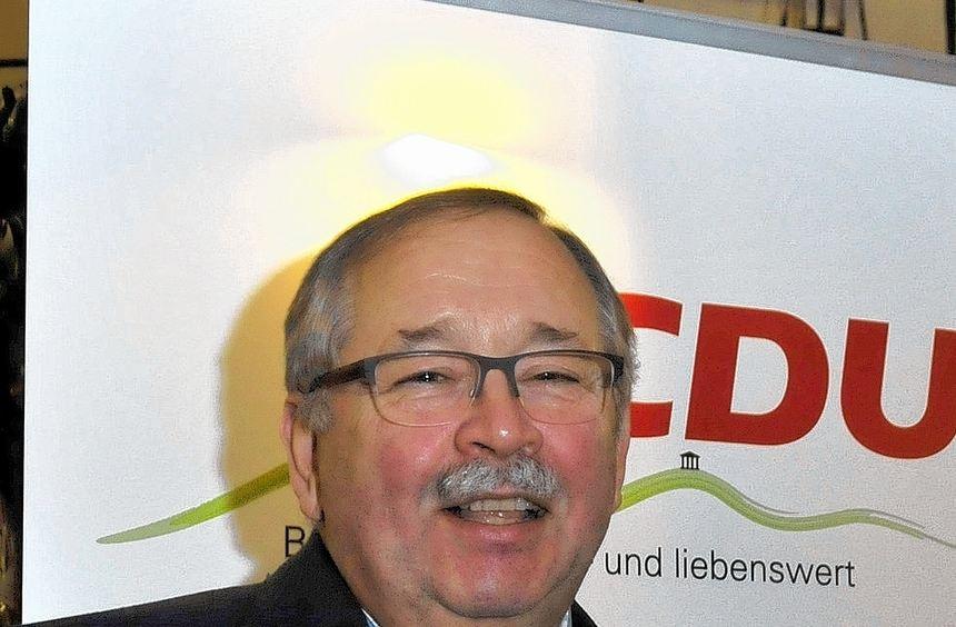 Landtagspräsident Norbert Kartmann sprach beim politischen Aschermittwoch des Bensheimer ...