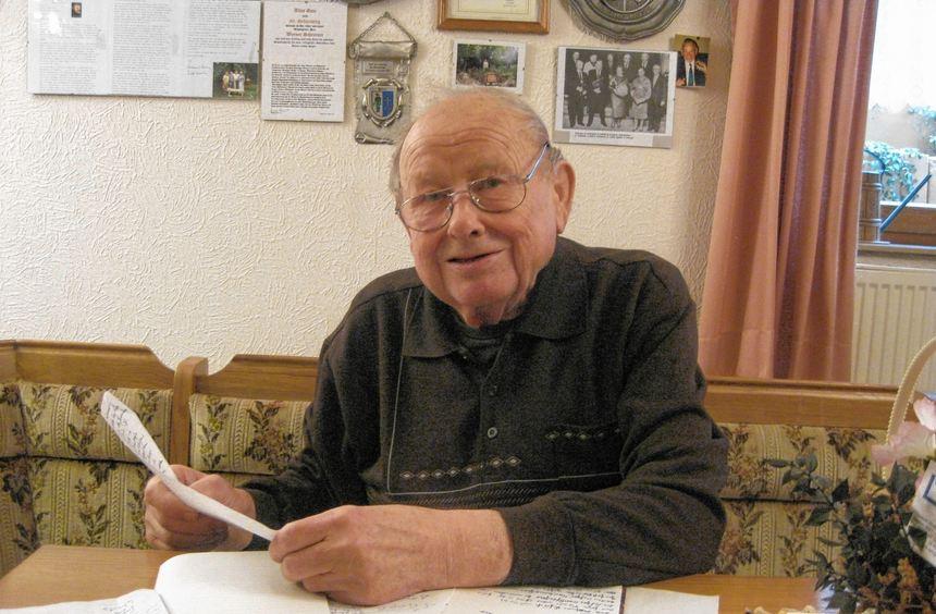 Hat unzählige Geschichten und Anekdoten parat: Werner Schreiner. Gerne erinnert sich der 82-Jährige ...