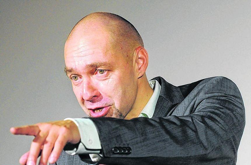 Vieldeutig und unterhaltsam: Arnim Töpel.