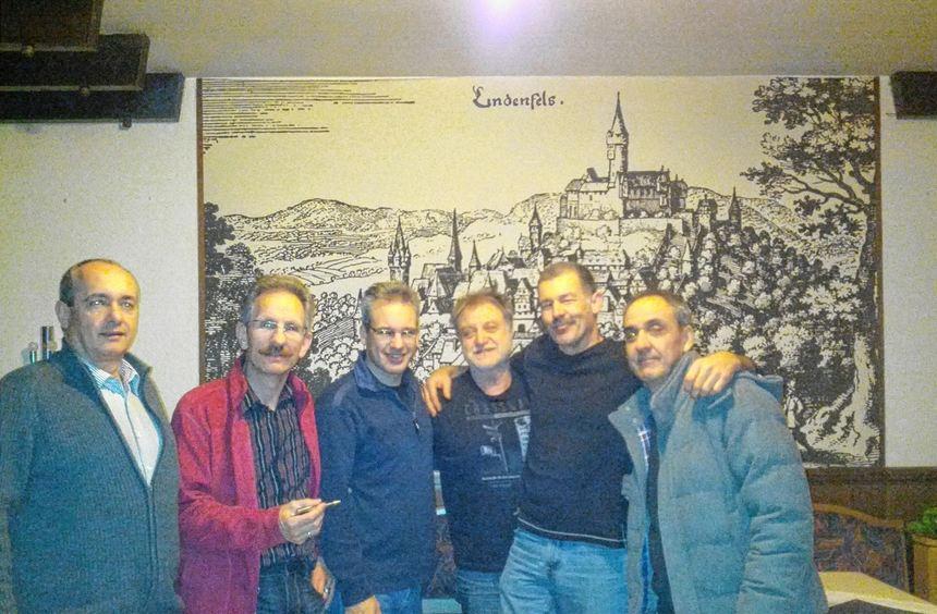 Der Vorstand des Lindenfelser Gleitschirmfliegervereins