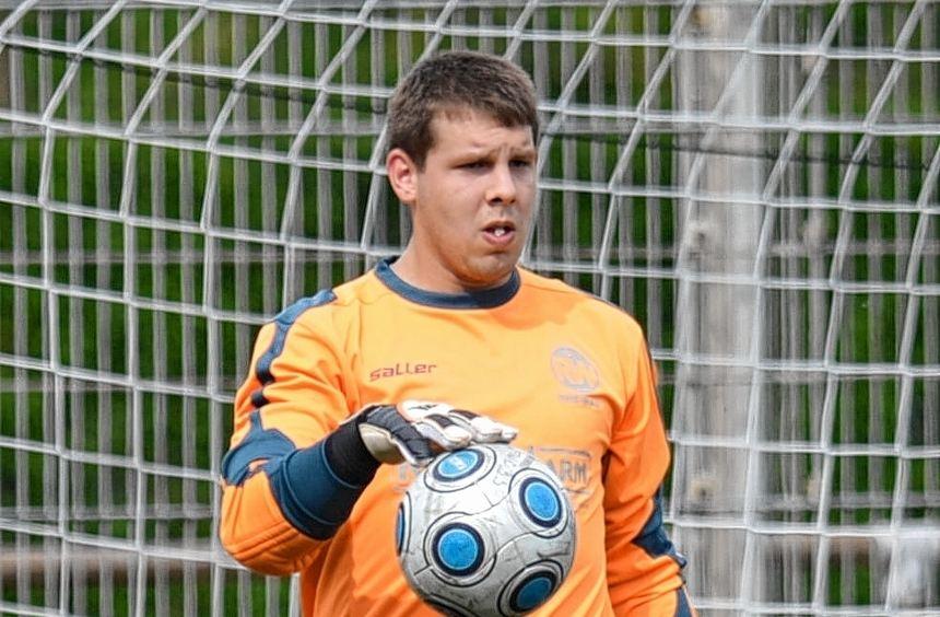 Neu beim Kreisligisten ASV Feudenheim: Torwart Patrick Holch kam von RW Rheinau.