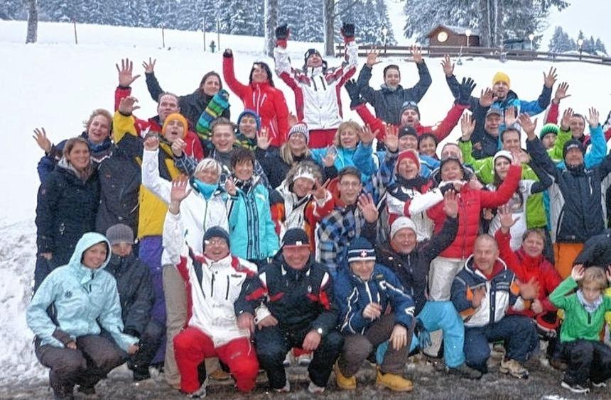 Spaß im Schnee: Der Friedrichsfelder Ski-Club machte die Pisten rund um den Seebuck im ...
