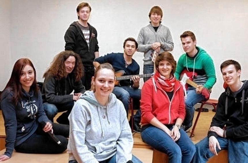 Die Schüler des Lessing-Gymnasiums freuen sich auf ihre Gäste.