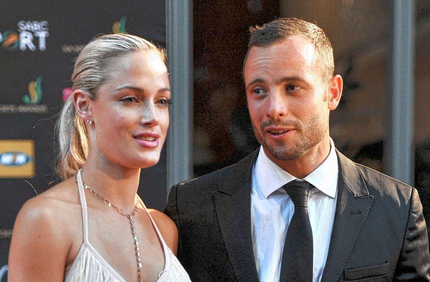 Oscar Pistorius und seine Freundin Reeva Steenkamp im November 2012 in Johannesburg.