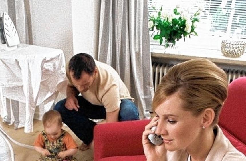 Mütter haben nach der Babypause oft Probleme beruflich Fuß zu fassen.
