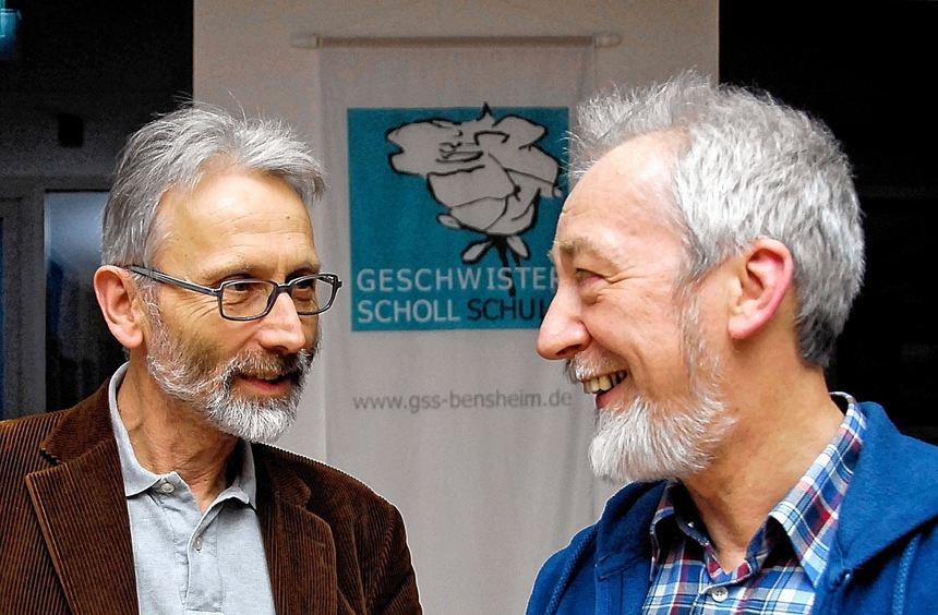 """Peter Ohlendorf (links), Regisseur und Produzent des Films """"Blut muss fließen - Undercover unter ..."""